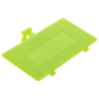 Replacement battery cover door for nintendo game boy pocket  / lime green