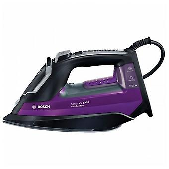 BOSCH TDA753122V 350 ml 50 g/min 3100W black Violet steam iron