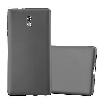 Cadorabo Hülle für Nokia 3 2017 Case Cover - Handyhülle aus flexiblem TPU Silikon – Silikonhülle Schutzhülle Ultra Slim Soft Back Cover Case Bumper