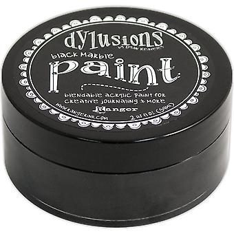 Dyan Reaveley's Dylusions Paint 2oz-Black Marble DYP-45946