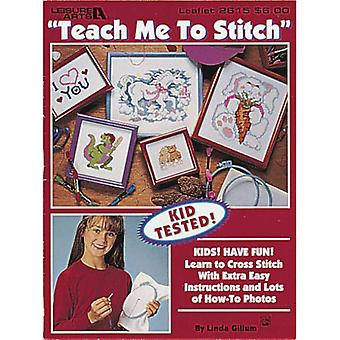 Leisure Arts Teach Me To Stitch La 2615