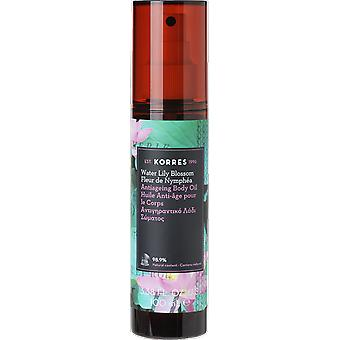Korres waterlelie anti-ageing Lichaamsolie