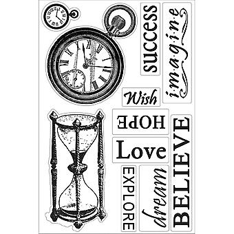Hearts Ease Stamp-Time Goes On, 4
