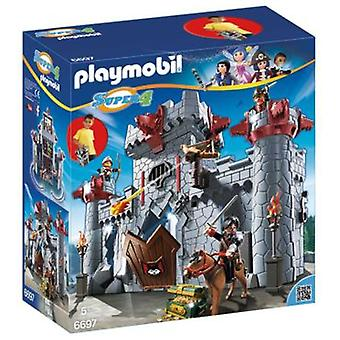 Playmobil 6697 Briefcase Castle Black Baron