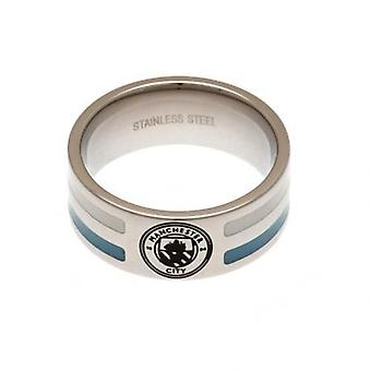 Manchester City Colour Stripe Ring Small