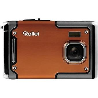 Digital camera Rollei SPORTSLINE 85 8 MPix Orange Full HD Video, Shockproof, Underwater camera