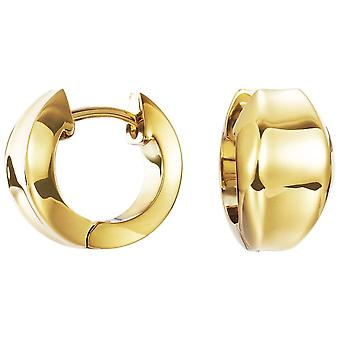 ESPRIT women's earrings hoops curved gold ESCO11902B000