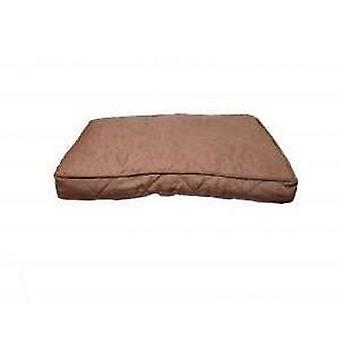 40 Winks Mattress Chocolate Tweed 107x71cm