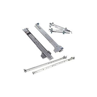 Dell 2/4-Post Static rapid Rails Rack 1U and 2U systems-Kit with stand Rails-for PowerEdge R220, R230