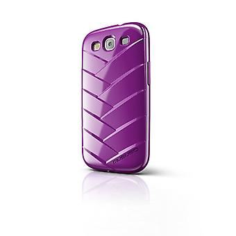 Musubo Mummy Case for Samsung Galaxy S3 (Purple)