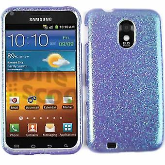 Unlimited Cellular Snap-On Protector Case for SAMD710/R760/GS2 (Rainbow Glitter