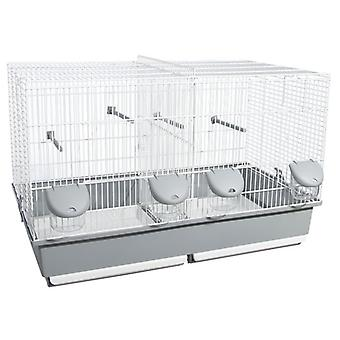 Voltrega 350 Breeding Cage White 70 X 40 X 44 Cm (Birds , Bird Cages , Small Birds)