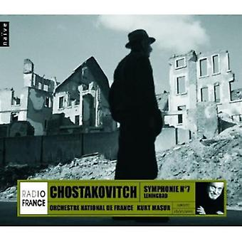 Chostakovitch - Shostakovich: Symphony No. 7 [CD] USA import