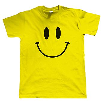 Smiley Face, Mens Festival T Shirt
