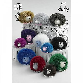 King Cole Pattern 9015 - Tinsel Hedgehog