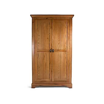 Direct Home Living Oak Grandeur Full Hanging Wardrobe
