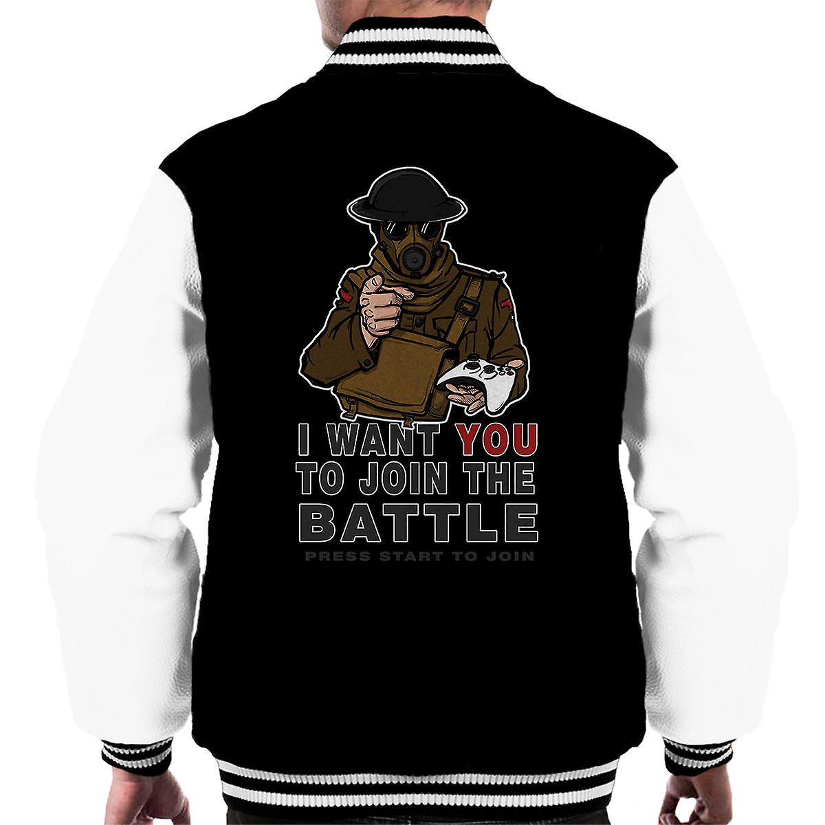Join The Fight Men's Varsity Jacket
