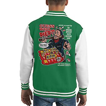 Supongo que murió Negan Varsity Jacket del cabrito muerto camina
