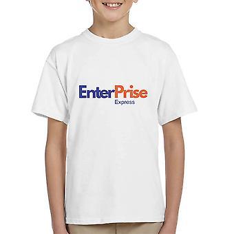 Fedex Logo Enterprise Star Trek Kid's T-Shirt