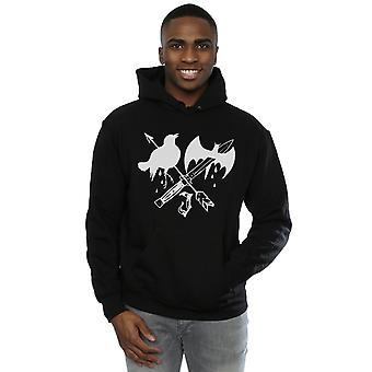 Suicide Squad Men's Joker Tattoo Icon Hoodie