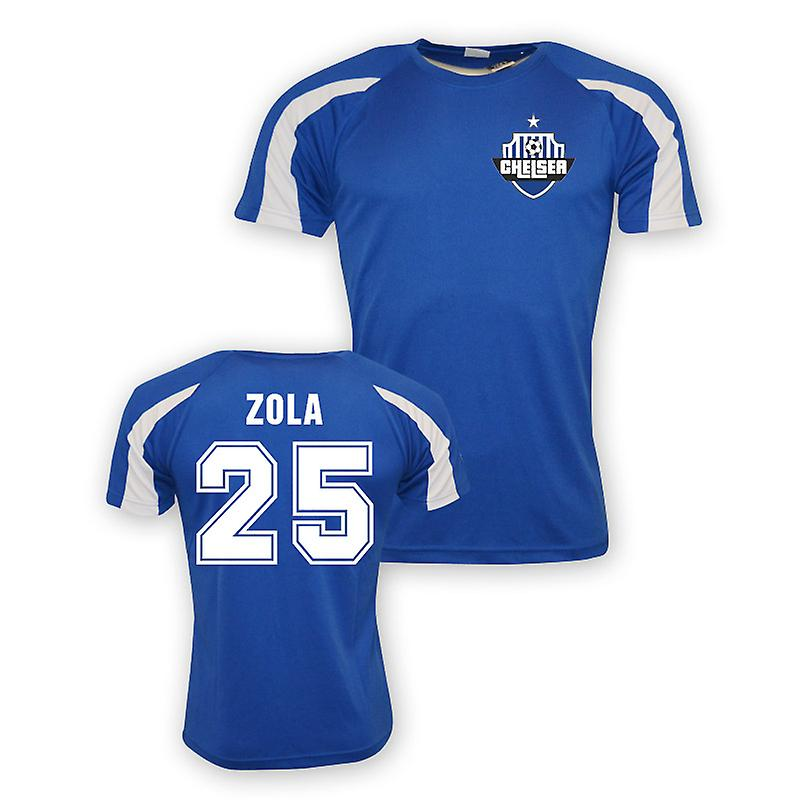 Gianfranco Zola Chelsea Sports Training Jersey (blue)