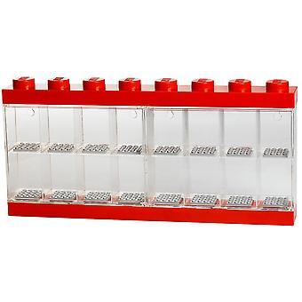 Minifigs: Lego Aufbewahrungsbox rot 16-Stück