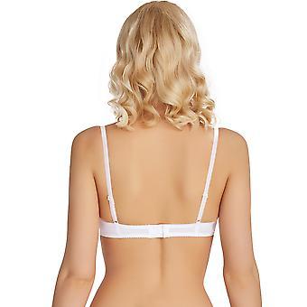 Mio Classic Florance White Lace Push Up Bra H06-14-L