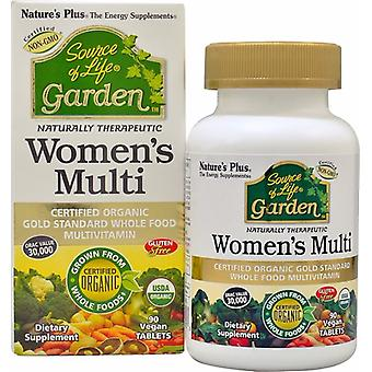 Natures Plus  Source Of Life Garden Women's Multi (90 Vegan Tablets)