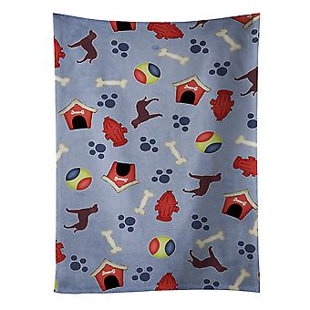 American Water Spaniel Dog House Collection Kitchen Towel