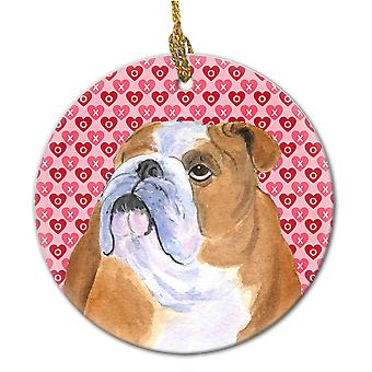 Carolines Treasures  SS4491CO1 Bulldog English  Ceramic Ornament