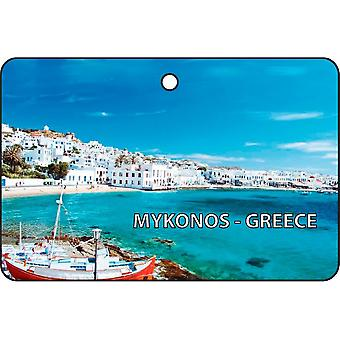 Mykonos - Greece Car Air Freshener
