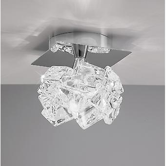 Artic Ceiling 1 Light G9 Small Polished Chrome