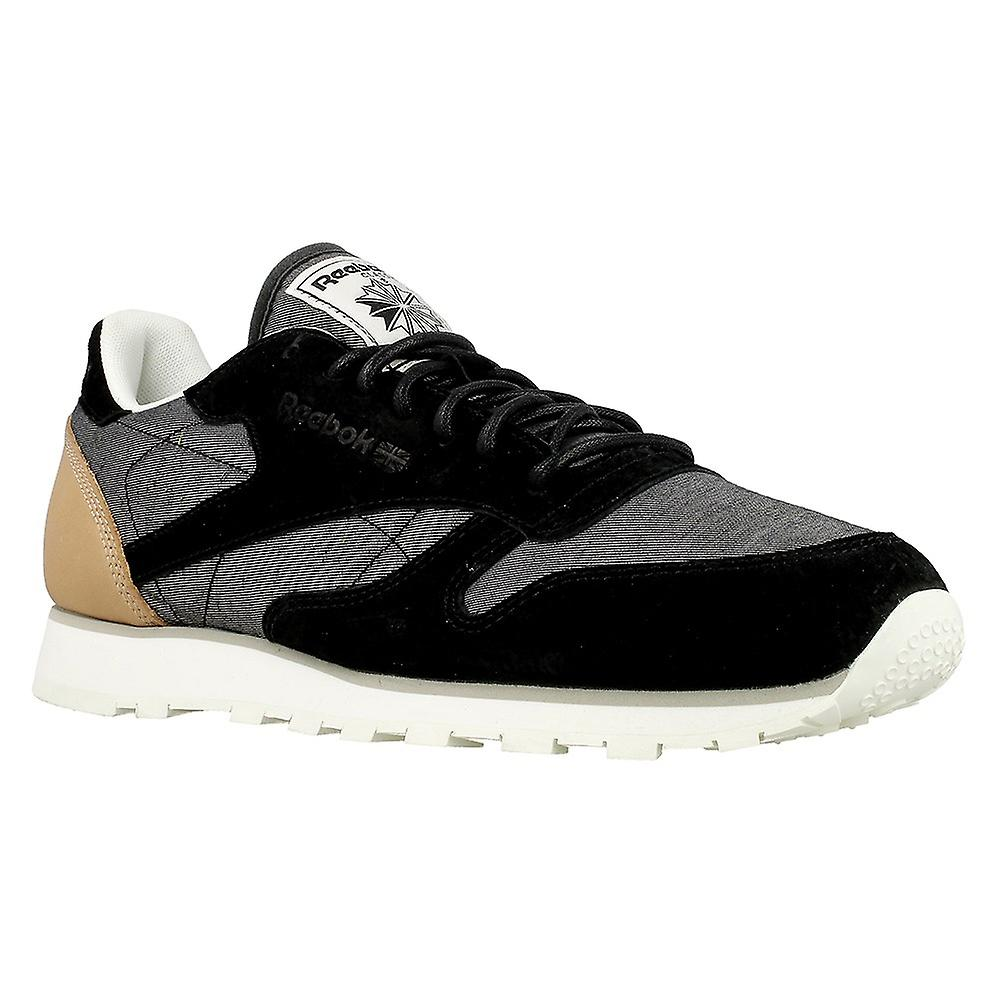 Reebok CL Leather Fleck AQ9723 universal all year men shoes
