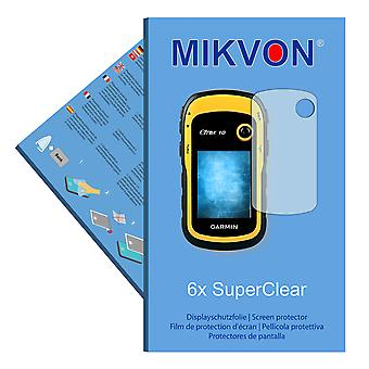 Garmin eTrex 10 screen protector- Mikvon films SuperClear