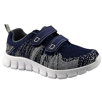 Infant Girls Kids New Touch Fastening Lightweight Jogger Trainers Shoes