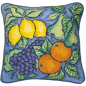 Frukt Needlepoint Canvas