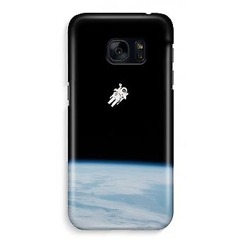 Samsung S7 Full Print Case - Alone in Space