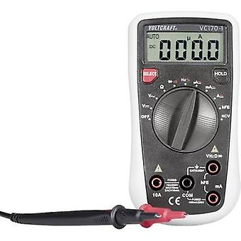 Handheld multimeter Digital VOLTCRAFT VC170-1 Calibrated to: Manufacturer's standards (no certificate) CAT III 250 V Di