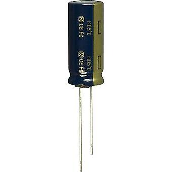 Electrolytic capacitor Radial lead 5 mm 4700 µF 6