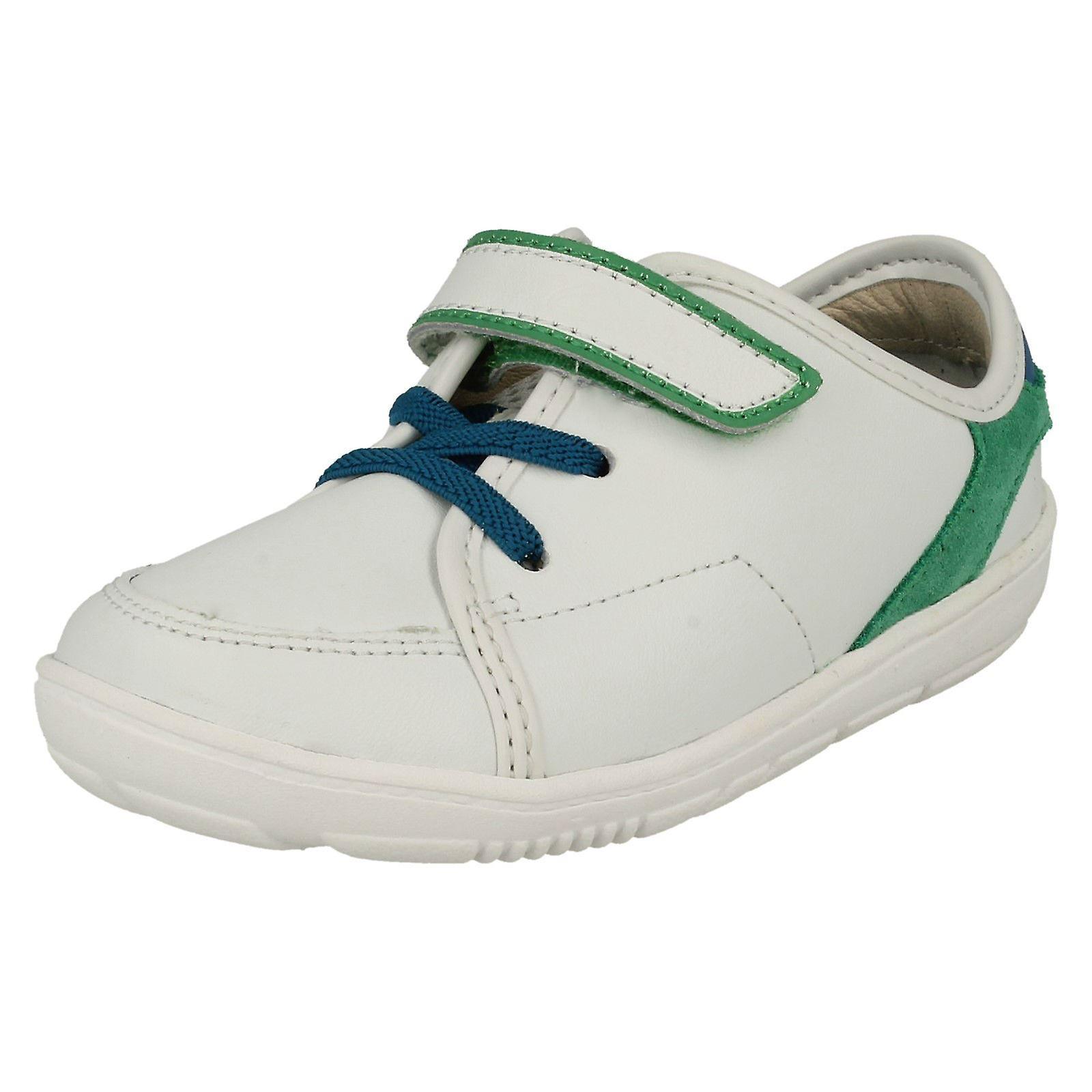 Boys Clarks First Trainer Style scarpe Maxi Leo | Prezzo speciale  | Sig/Sig Ra Scarpa
