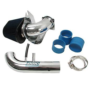BBK 1718 Cold Air Intake System - Power Plus Series Performance Kit for Ford Mustang 4.6L 2V - Fenderwell Style - Chrome