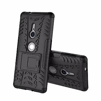 Hybrid case 2 piece SWL robot black for Sony Xperia XZ2 bag case cover protection