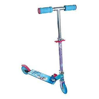 DISNEY Frozen Two Wheel Foldable Scooter with Adjustable Handle (OFRO112)