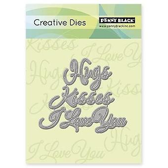Penny Black Creative Dies-Love Expressions, 3.7