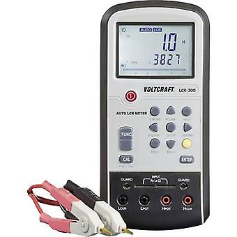 VOLTCRAFT LCR-300 Component tester Digital Calibrated to: Manufacturers standards (no certificate) CAT I Display (counts): 20000