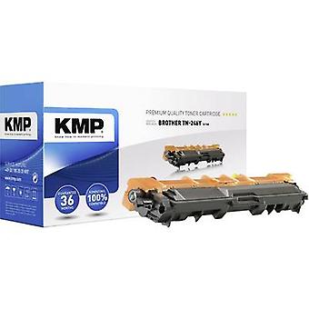 KMP Toner cartridge replaced Brother TN-246Y, TN246Y Compatible Yellow 2200 pages B-T60