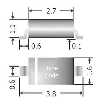 Diotec snelle diode 1N4148W SOD 123 75 V 150 mA tape cut