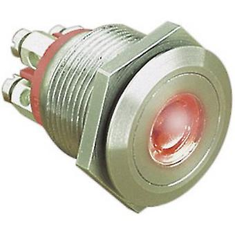 Bulgin MPI001/TERM/RD Tamper-proof pushbutton 24 Vdc 0.05 A 1 x Off/(On) IP66 momentary 1 pc(s)