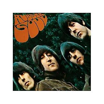 Beatles Rubber Soul Lp Cover Metal Wall Sign
