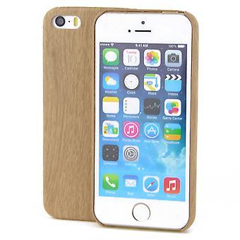Apple iPhone 8 más bambú caso de TPU Mobile Shell óptica madera protección cubierta